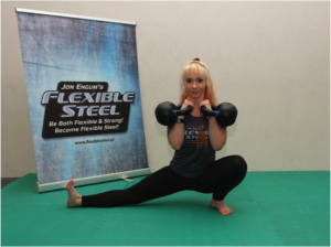 Angel Stretch with Kettle Bells