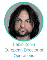Fabio Zonin European Director of Operations