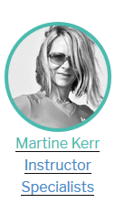 Martine Kerr Instructor Specialists